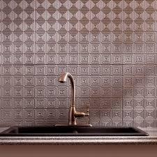 Fasade  In X  In Miniquattro PVC Decorative Backsplash Panel - Decorative backsplash