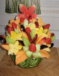 fruit flower arrangements edible fruit sculptures bouquets