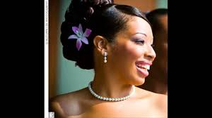 african american flower wedding hairstyles youtube