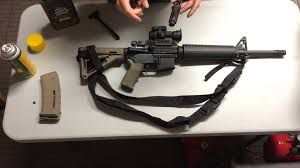 how to properly lube an ar15 youtube