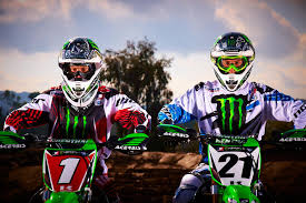 motocross gear monster energy villopoto and weimer set to return to monster energy kawasaki
