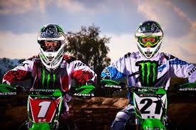 motocross monster energy gear villopoto and weimer set to return to monster energy kawasaki