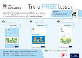 try a free lesson with nelson handwriting by ntprimary teaching