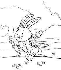 rabbit alice wonderland coloring