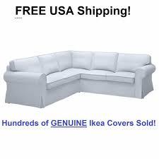 Corner Sectional Sofas Ikea Ektorp 4 Seat Corner Sectional Sofa Slipcover Cover Nordvalla