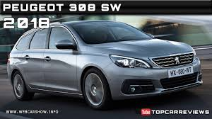 peugeot estate models 2018 peugeot 308 sw review rendered price specs release date youtube