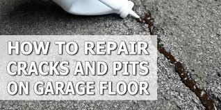 Concrete Floor Repair How To Repair Pits And Cracks On Concrete Garage Floor