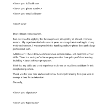 cover letters resume cover letter samples for medical office