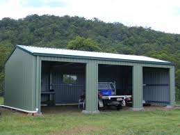 three car garage 3 bay shed triple garage 6m x 9m 7m x 10 5m 8m x 12m steel sheds
