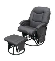 Glider Chair With Ottoman Ottomans Ikea Glider Chair And Ottoman Karlstad Leather Slate