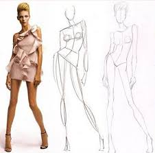 25 unique fashion model sketch ideas on pinterest fashion