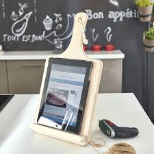 support tablette tactile cuisine support tablette pour cuisine etagere porte tablette pour credence