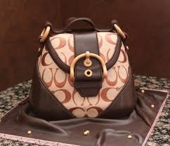 cake purse coach purse cake