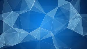 blue and white web abstract geometrical motion background 4k stock