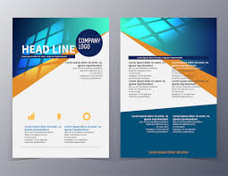 one page brochure template business and technology brochure design template vector jpg best