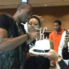 serge ibaka is dating singer keri hilson kevin durant threw her a