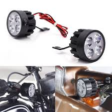 led lights for motorcycle for sale pair 10v 85v dc 12w led light motorcycle scooter bicycle rear view