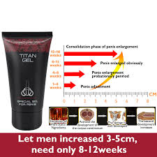 wholesale 10 pcs titan gel penis enlargement cream men s bigger dick