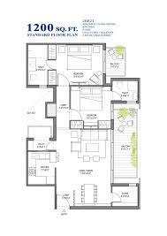 4 bedroom apartment floor plans india