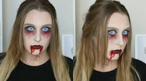Vampire Halloween Makeup Tutorial Easy Vampire Zombie Halloween Makeup Tutorial 2016 Youtube