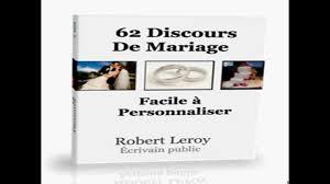 exemple discours mariage original télécharger 62 modèles de discours de mariage robert leroy