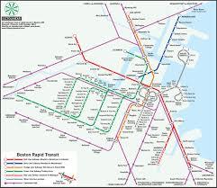 Boston Metro Map A U0027twist U0027 On The Mbta U0027s Map Design U2013 Boston Magazine