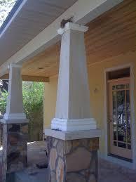 classic craftsman bungalow column with bird u0027s nest it used to