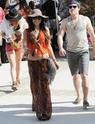 hippie style vanessa hudgens showed off her hippie style in 2011 coachella