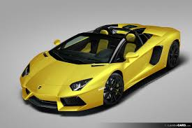 lamborghini aventador roadster yellow official lamborghini reveals the aventador roadster page 4