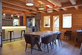 cuisine cocooning chalet lombard vasina salle manger cuisine un espace of salle a