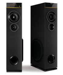 home theater philips buy philips spa9080b 94 tower speakers black online at best