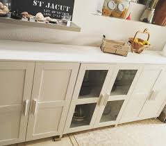 ikea simulation cuisine ikea brimnes cabinets as a console or buffet add wood top