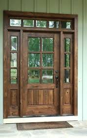 Exterior Door With Side Lights Front Door With Sidelights Instat Co