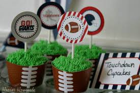super bowl cupcakes and party printables hoosier homemade