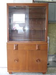 Small China Cabinet Hutch by Vintage Signed 1950 U0027s American Of Martinsville Mid Century China