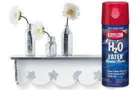 free spray paint krylon h20 latex low voc