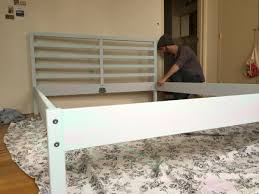 painting your ikea bed frame how to everything