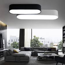 Lights For Bookcases Aliexpress Com Buy Simple Art Led Ceiling Light For Living Room