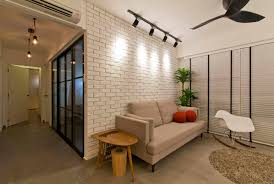 cement showcase designs living room