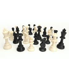 amazon com best value tournament chess set 90 plastic filled