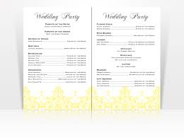 wedding invitation program wedding invitation sles