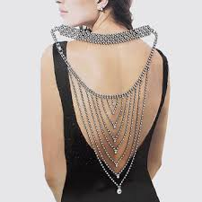 crystal back necklace images Shop backdrop wedding necklaces on wanelo jpg