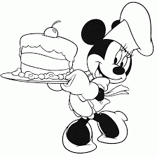 happy birthday disney coloring pages kids coloring