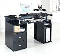 Computer Desk With Hutch Black Marvelous Black Office Desk Design U2013 Trumpdis Co