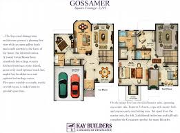 gossamer twin villa trexler field floor plans kay builders