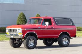 79 Ford Bronco Interior 1979 Ford Bronco 4x4 202186