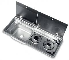 caravan sink with lid smev 9722 sink and hob combination unit rainbow conversions