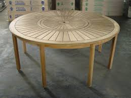 round table with lazy susan built in round dining table 180cm
