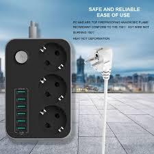 ls with usb outlets ldnio se4432 smart usb power strip outlet eu plug 4 ac power socket