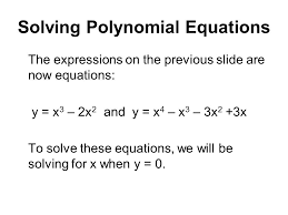 Factoring Solving Polynomial Equations Calculator   factoring     lbartman com the pro math teacher math worksheet   solving polynomial equations ppt factor polynomial expressions in   Factoring Solving Polynomial Equations